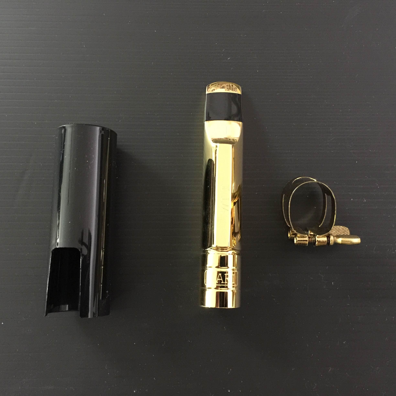 פיית מתכת מצופה זהב לסקסופון טנור BARI