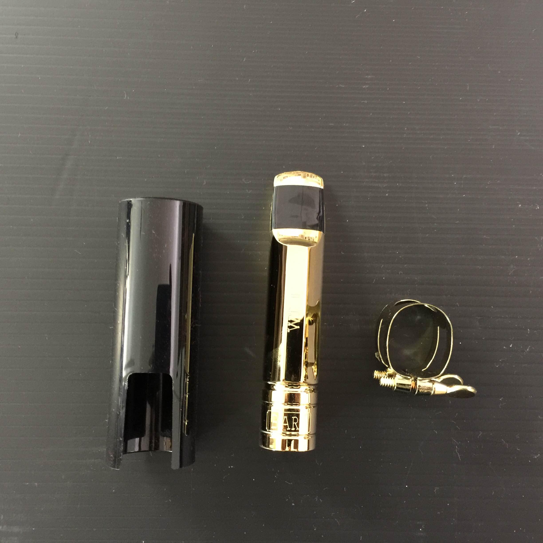 פיית מתכת מצופה זהב לסקסופון אלט BARI